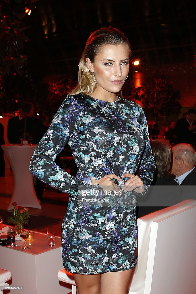 Sophia Thomalla attends the 18th Annual Jose Carreras Gala on December 13, 2012 in Leipzig, Germany.