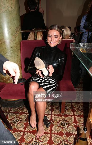 Sophia Thomalla attends the Bild 'Place to B' Party at Borchardt Restaurant on February 7 2015 in Berlin Germany