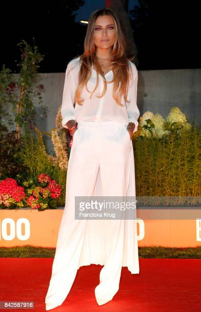 Sophia Thomalla attends the BILD100 event at Axel Springer Haus on September 4 2017 in Berlin Germany