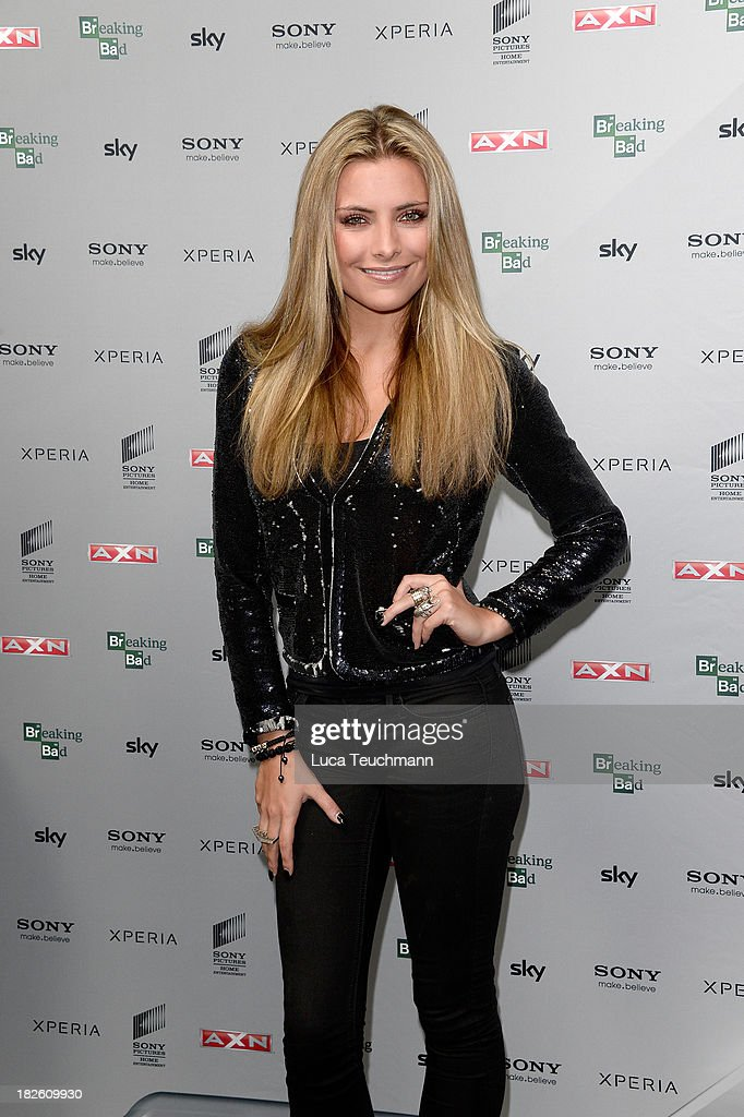 Sophia Thomalla attends the 'Breaking Bad' Screening Party at the Cosy-Wash on October 1, 2013 in Berlin, Germany.