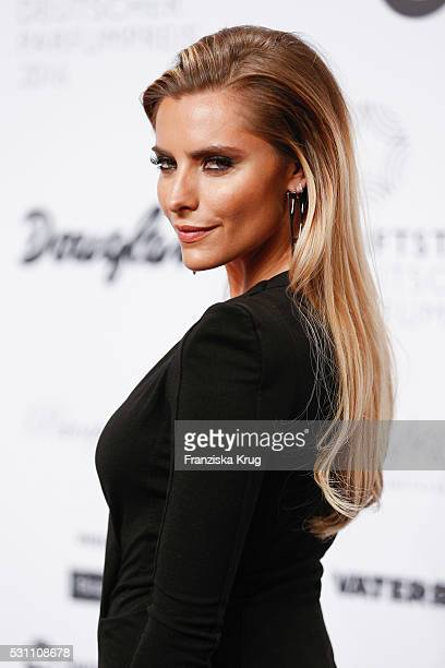 Sophia Thomalla attends the Douglas at Duftstars at Kraftwerk Mitte on May 12 2016 in Berlin Germany