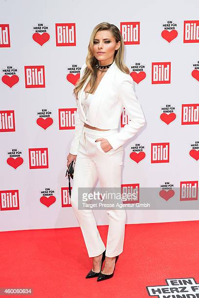 Sophia Thomalla attends the Ein Herz Fuer Kinder Gala 2014 at Tempelhof Airport on December 6 2014 in Berlin Germany