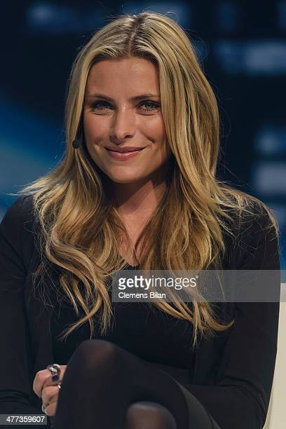 Sophia Thomalla attends the 'Electrified The Late Night' at Tempelhof Airport on March 8 2014 in Berlin Germany