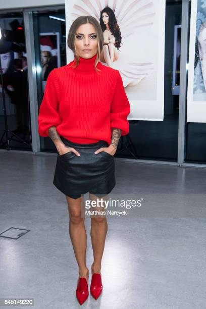 Sophia Thomalla attends the 'Gabo Fame' Exhibition Opening at HumboldBox on September 9 2017 in Berlin Germany