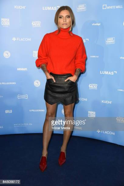 Sophia Thomalla attends the 'Gabo Fame presented by Lumas' Exhibition Opening at HumboldtBox on September 9 2017 in Berlin Germany
