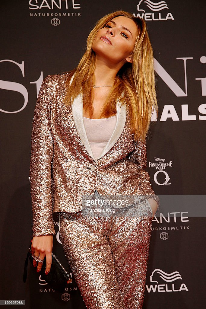 Sophia Thomalla attends the 'Michalsky Style Nite Arrivals - Mercesdes-Benz Fashion Week Autumn/Winter 2013/14' at Tempodrom on January 18, 2013 in Berlin, Germany.
