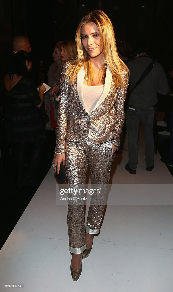 Sophia Thomalla attends the Michalsky Style Nite Autumn/Winter 2013/14 Show during the Mercedes-Benz Fashion Week at Tempodrom on January 18, 2013 in Berlin, Germany.