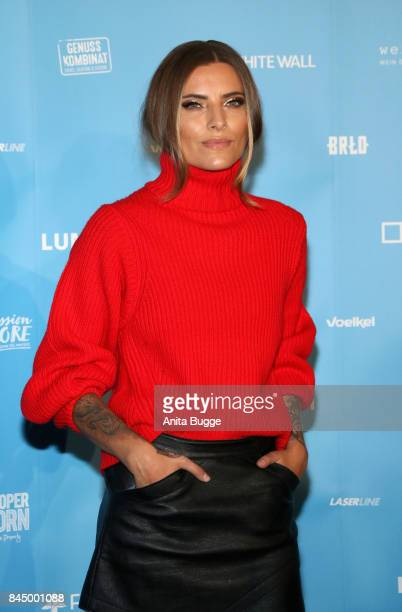 Sophia Thomalla attends the opening of the exhibition 'Gabo Fame' at HumboldBox on September 9 2017 in Berlin Germany