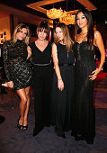 Sophia Thomalla Sabine Thomalla Alexandra Neldel and Verona Pooth attend 'Goldene Kamera 2013' at Axel Springer Haus on February 2 2013 in Berlin...