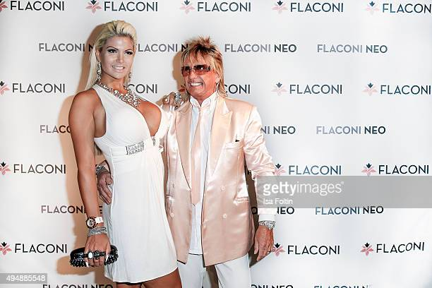 Sophia Wollersheim and Bert Wollersheim attend the Flaconi Neo Salon Opening on October 29 2015 in Berlin Germany