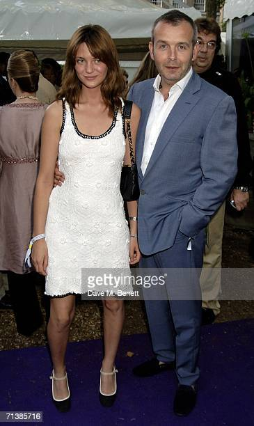 Sophie and Piers Adam attend the Berkeley Square Ball at Berkeley Square July 6 2006 London England
