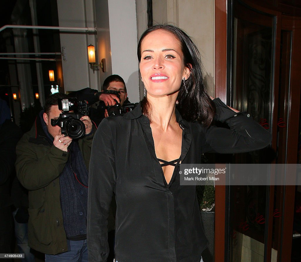 Sophie Anderton attending the Total Minx Launch Party on February 25, 2014 in London, England.