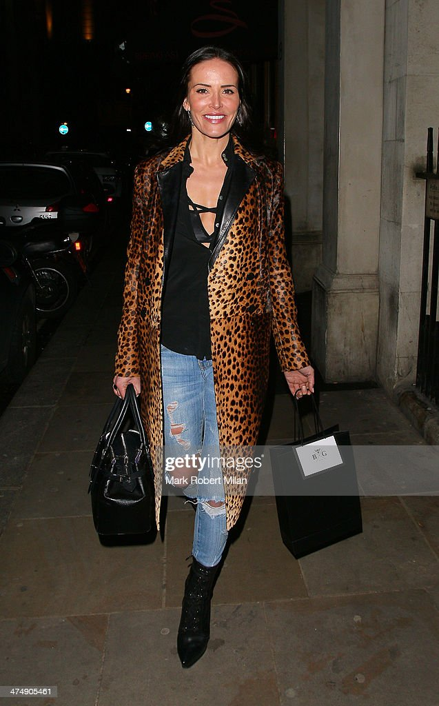 <a gi-track='captionPersonalityLinkClicked' href=/galleries/search?phrase=Sophie+Anderton&family=editorial&specificpeople=202169 ng-click='$event.stopPropagation()'>Sophie Anderton</a> attending the Total Minx Launch Party on February 25, 2014 in London, England.
