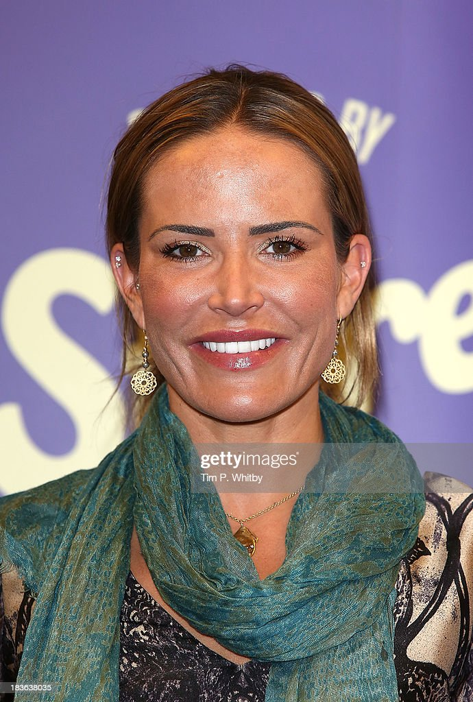 <a gi-track='captionPersonalityLinkClicked' href=/galleries/search?phrase=Sophie+Anderton&family=editorial&specificpeople=202169 ng-click='$event.stopPropagation()'>Sophie Anderton</a> attends a photocall to launch new shopping channel 'The Store' at BAFTA on October 8, 2013 in London, England.
