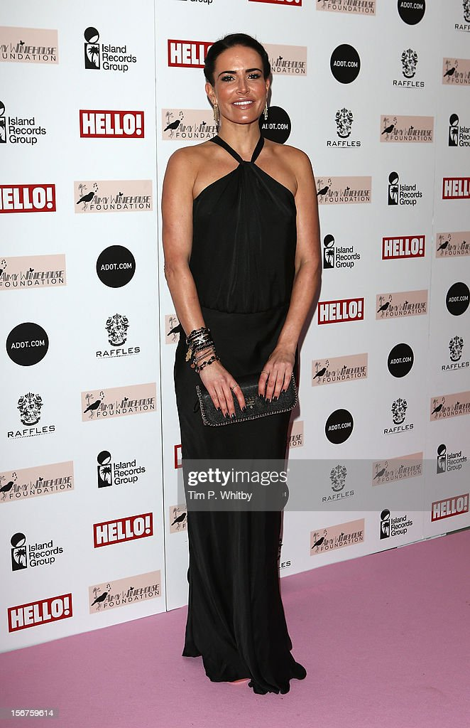 <a gi-track='captionPersonalityLinkClicked' href=/galleries/search?phrase=Sophie+Anderton&family=editorial&specificpeople=202169 ng-click='$event.stopPropagation()'>Sophie Anderton</a> attends The Amy Winehouse Foundation Ball at The Dorchester Hotel on November 20, 2012 in London, England.