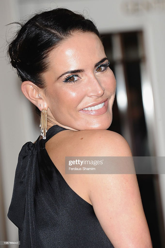 Sophie Anderton attends The Amy Winehouse Foundation Ball on November 20, 2012 in London, England.