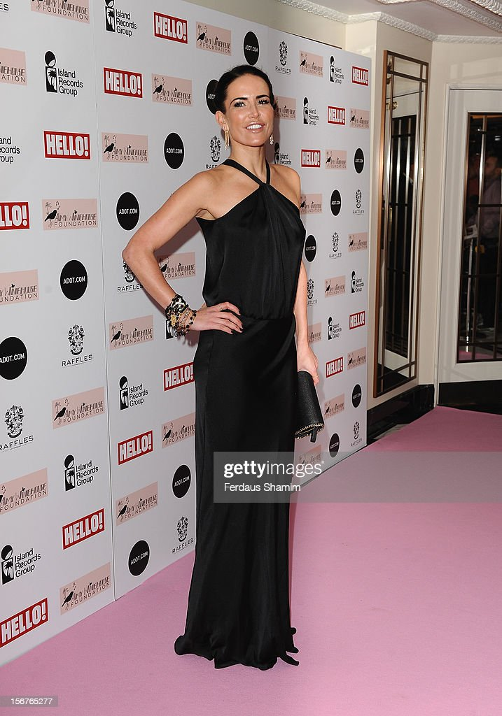 <a gi-track='captionPersonalityLinkClicked' href=/galleries/search?phrase=Sophie+Anderton&family=editorial&specificpeople=202169 ng-click='$event.stopPropagation()'>Sophie Anderton</a> attends The Amy Winehouse Foundation Ball on November 20, 2012 in London, England.