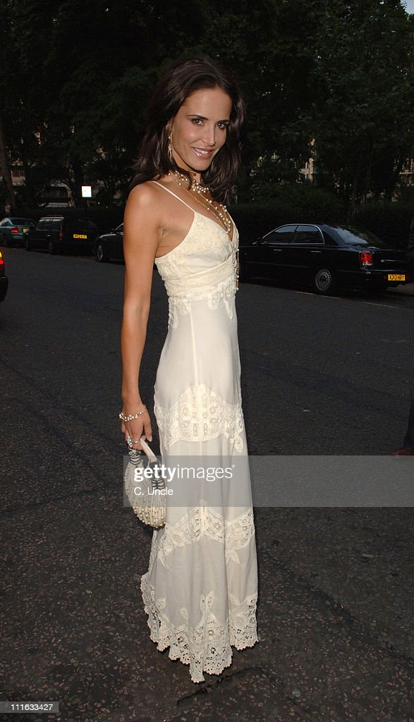 <a gi-track='captionPersonalityLinkClicked' href=/galleries/search?phrase=Sophie+Anderton&family=editorial&specificpeople=202169 ng-click='$event.stopPropagation()'>Sophie Anderton</a> during Michele Watches - 2006 VIP Summer Party - Outside Arrivals at Home House in London, Great Britain.