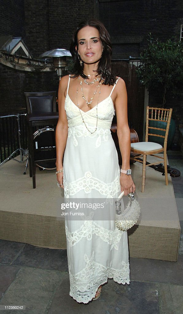 <a gi-track='captionPersonalityLinkClicked' href=/galleries/search?phrase=Sophie+Anderton&family=editorial&specificpeople=202169 ng-click='$event.stopPropagation()'>Sophie Anderton</a> during Michele Watches Summer Party - Inside at Home House in London, Great Britain.