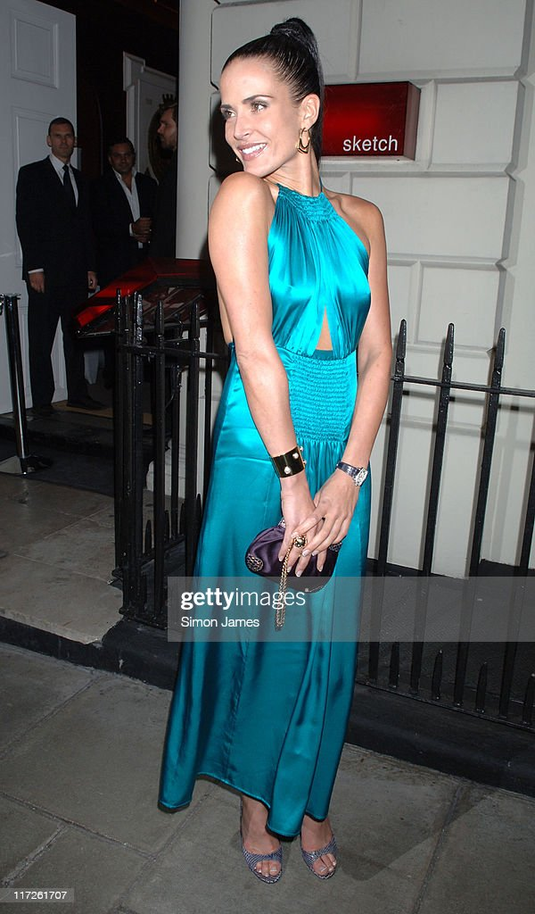 <a gi-track='captionPersonalityLinkClicked' href=/galleries/search?phrase=Sophie+Anderton&family=editorial&specificpeople=202169 ng-click='$event.stopPropagation()'>Sophie Anderton</a> during The Laurent Perrier Pink Party – Arrivals at Sketch in London, Great Britain.
