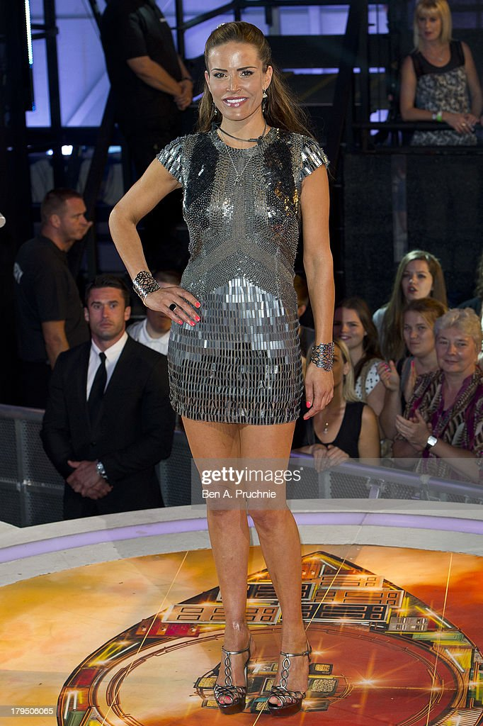 <a gi-track='captionPersonalityLinkClicked' href=/galleries/search?phrase=Sophie+Anderton&family=editorial&specificpeople=202169 ng-click='$event.stopPropagation()'>Sophie Anderton</a> is evicted from the Celebrity Big Brother House at Elstree Studios on September 4, 2013 in Borehamwood, England.