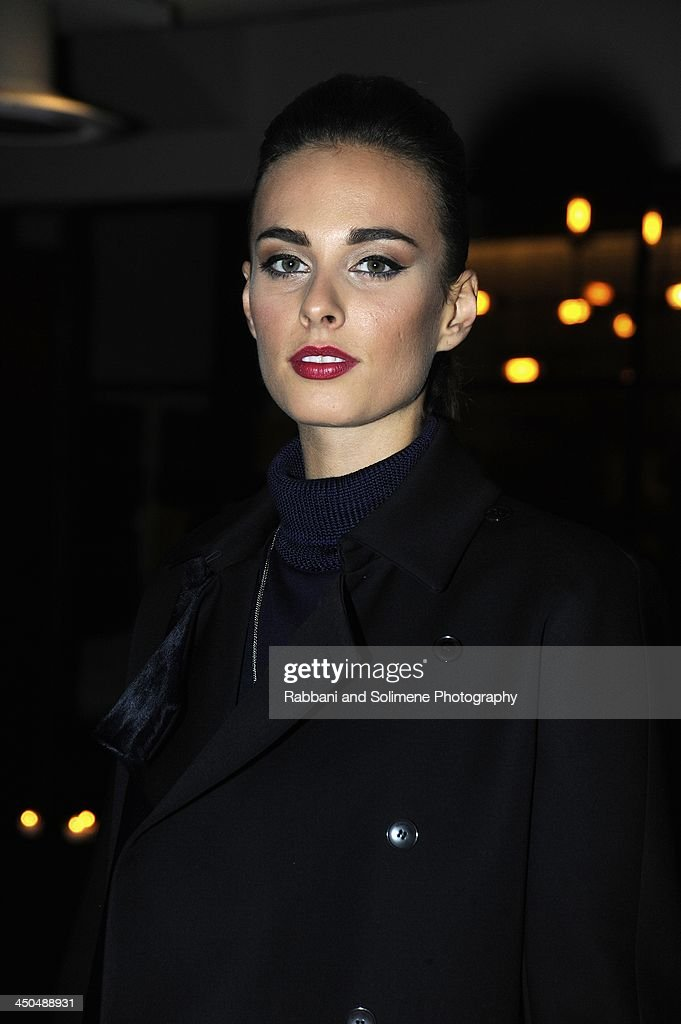 <a gi-track='captionPersonalityLinkClicked' href=/galleries/search?phrase=Sophie+Auster&family=editorial&specificpeople=2098020 ng-click='$event.stopPropagation()'>Sophie Auster</a> attends a cocktail party in honor of Salvatore Ferragamo's Short Film at Neuehouse on November 6, 2013 in New York City.