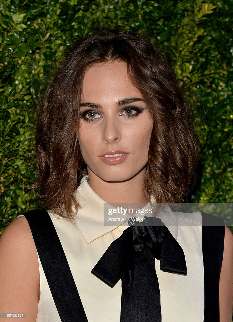 <a gi-track='captionPersonalityLinkClicked' href=/galleries/search?phrase=Sophie+Auster&family=editorial&specificpeople=2098020 ng-click='$event.stopPropagation()'>Sophie Auster</a> attends the Chanel Tribeca Film Festival Artist Dinner during the 2014 Tribeca Film Festival at Balthazar on April 22, 2014 in New York City.