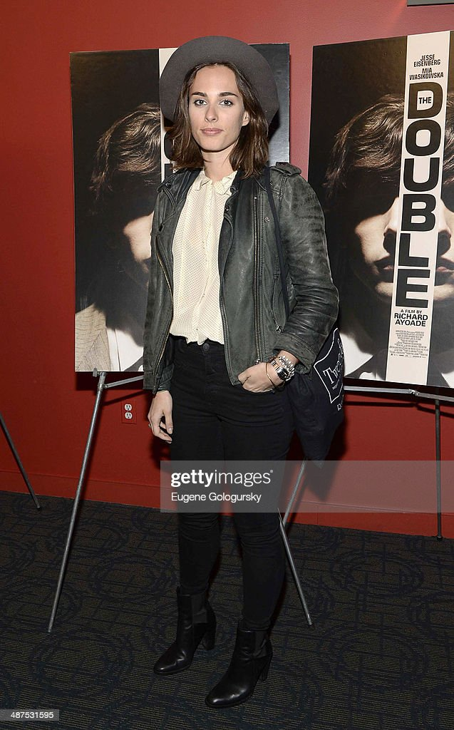 <a gi-track='captionPersonalityLinkClicked' href=/galleries/search?phrase=Sophie+Auster&family=editorial&specificpeople=2098020 ng-click='$event.stopPropagation()'>Sophie Auster</a> attends 'The Double' screening at Landmark's Sunshine Cinema on April 30, 2014 in New York City.