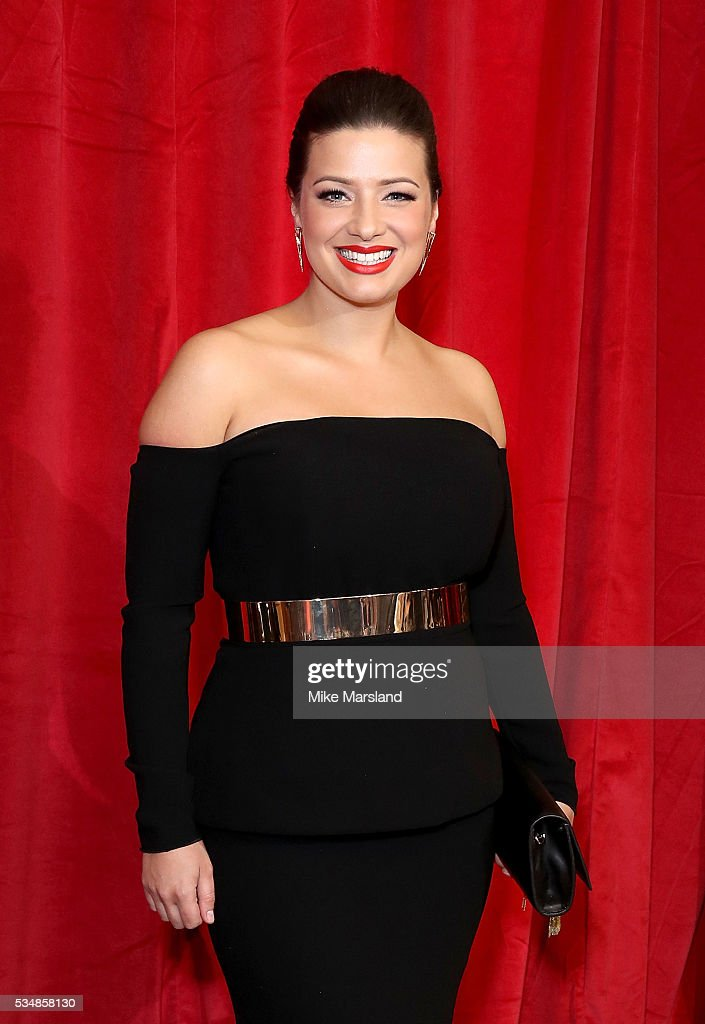 Sophie Austin attends the British Soap Awards 2016 at Hackney Empire on May 28, 2016 in London, England.