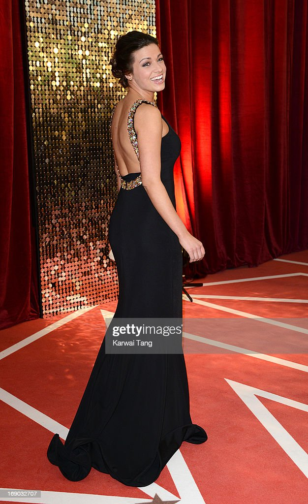 Sophie Austin attends the British Soap Awards at Media City on May 18, 2013 in Manchester, England.