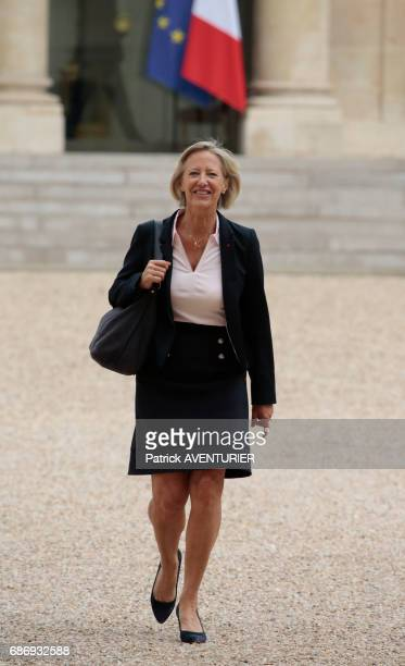 Sophie Cluzel France's junior minister for disabled people arrives for a cabinet meeting at the Elysée Palace in Paris France on May 18 2017