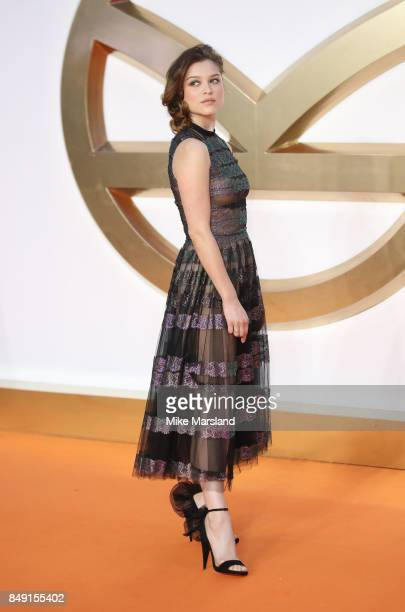 Sophie Cookson attends the 'Kingsman The Golden Circle' World Premiere held at Odeon Leicester Square on September 18 2017 in London England