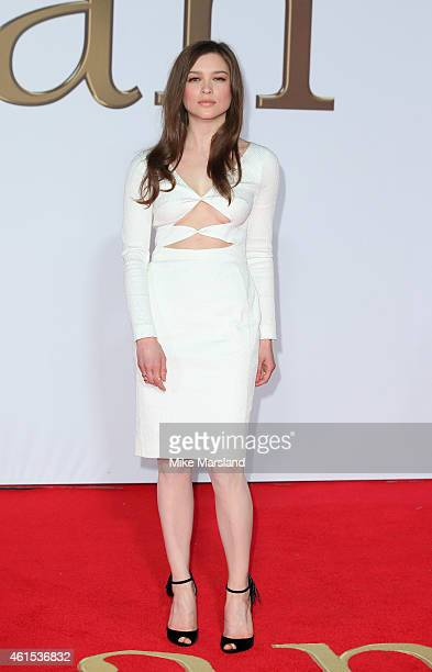 Sophie Cookson attends the World Premiere of 'Kingsman The Secret Service' at Odeon Leicester Square on January 14 2015 in London England