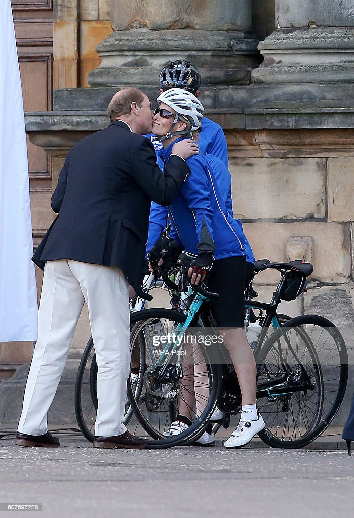 sophie-countess-of-wessex-and-a-team-of-riders-are-waved-off-by-of-picture-id607697228