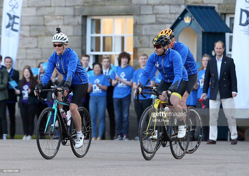 sophie-countess-of-wessex-and-a-team-of-riders-are-waved-off-by-of-picture-id607697236