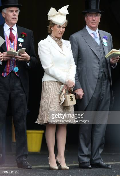 Sophie Countess of Wessex at Ascot Racecourse during ladies day