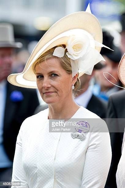 Sophie Countess of Wessex attends Day 2 of Royal Ascot at Ascot Racecourse on June 18 2014 in Ascot England