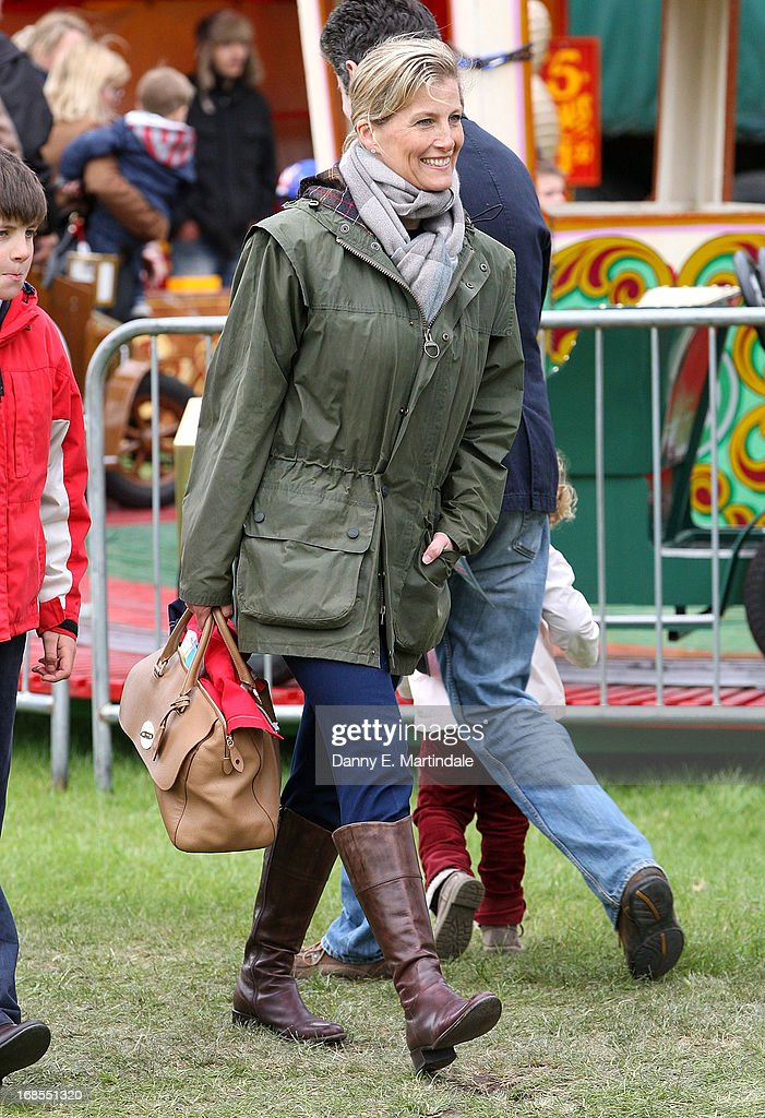Sophie, Countess of Wessex attends day 4 of the Royal Windsor Horse Show on May 11, 2013 in Windsor, England.