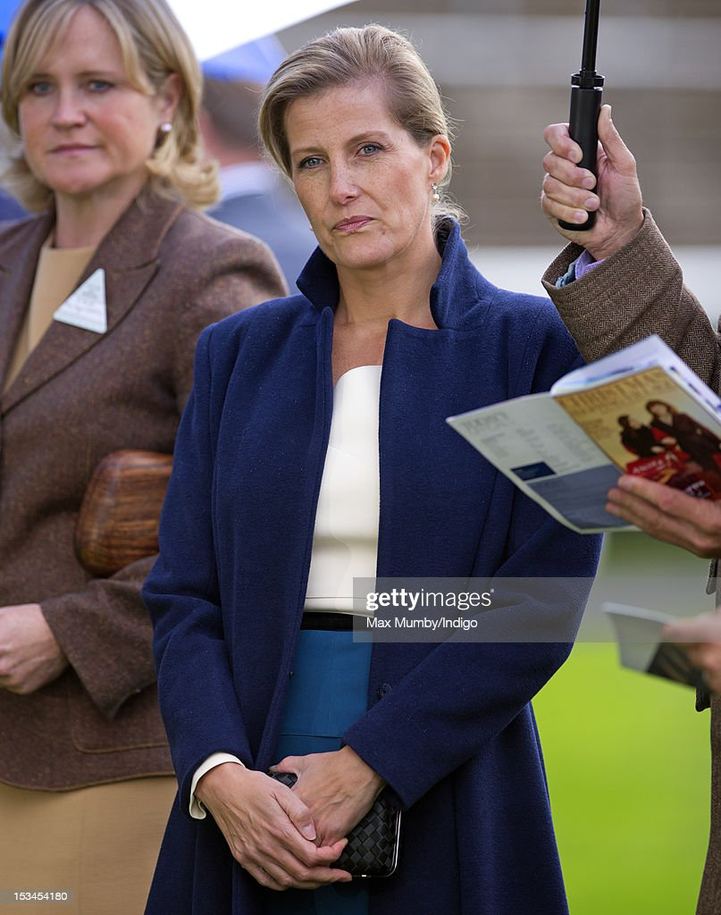 Sophie, Countess of Wessex attends day one of the Autumn Meeting at Ascot Racecourse on October 5, 2012 in Ascot, England.