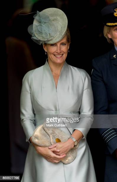 Sophie Countess Of Wessex attends Headley Court Farewell parade at St Martins Church on September 29 2017 in Dorking England