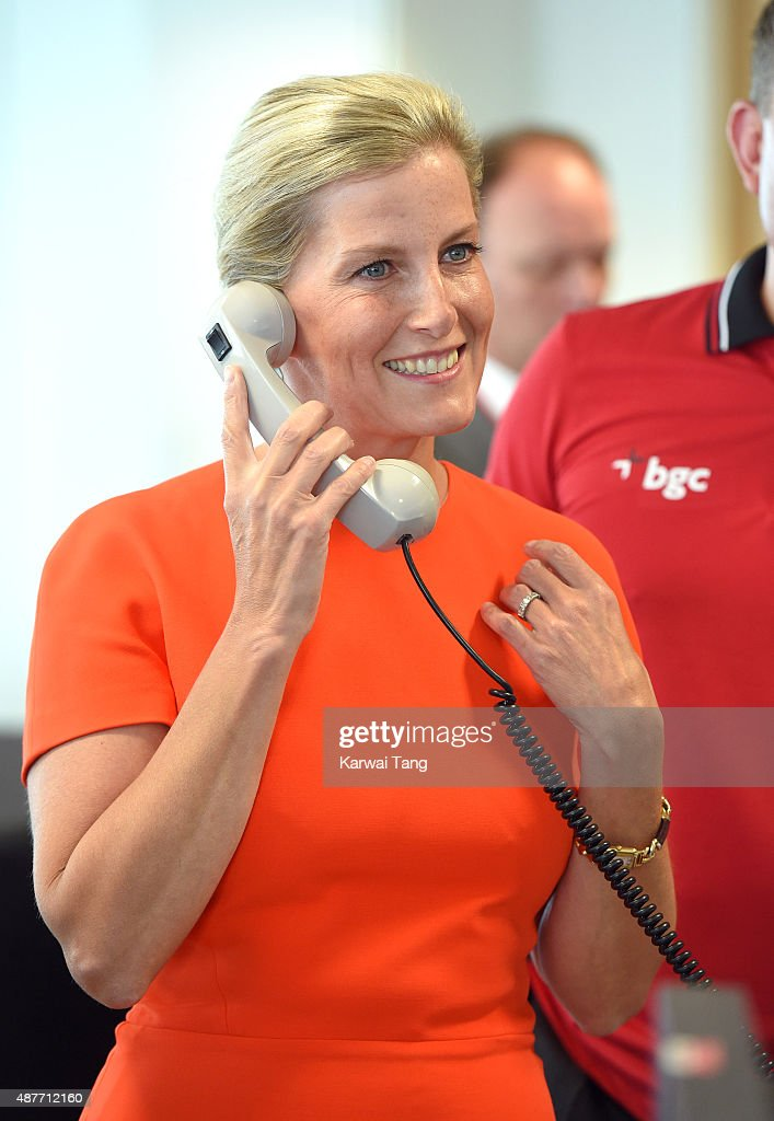 Sophie, Countess of Wessex attends the annual BGC Global Charity Day at BGC Partners on September 11, 2015 in London, England.