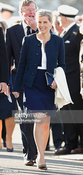 Sophie Countess of Wessex attends the Bicentenary Celebrations of The Royal Yacht Squadron on June 5 2015 in Cowes England