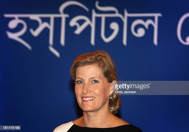 Sophie Countess of Wessex attends the closing ceremony of an ORBIS Opthalmic Conference at Swabhumi Conference Centre on day 4 of her visit to India...