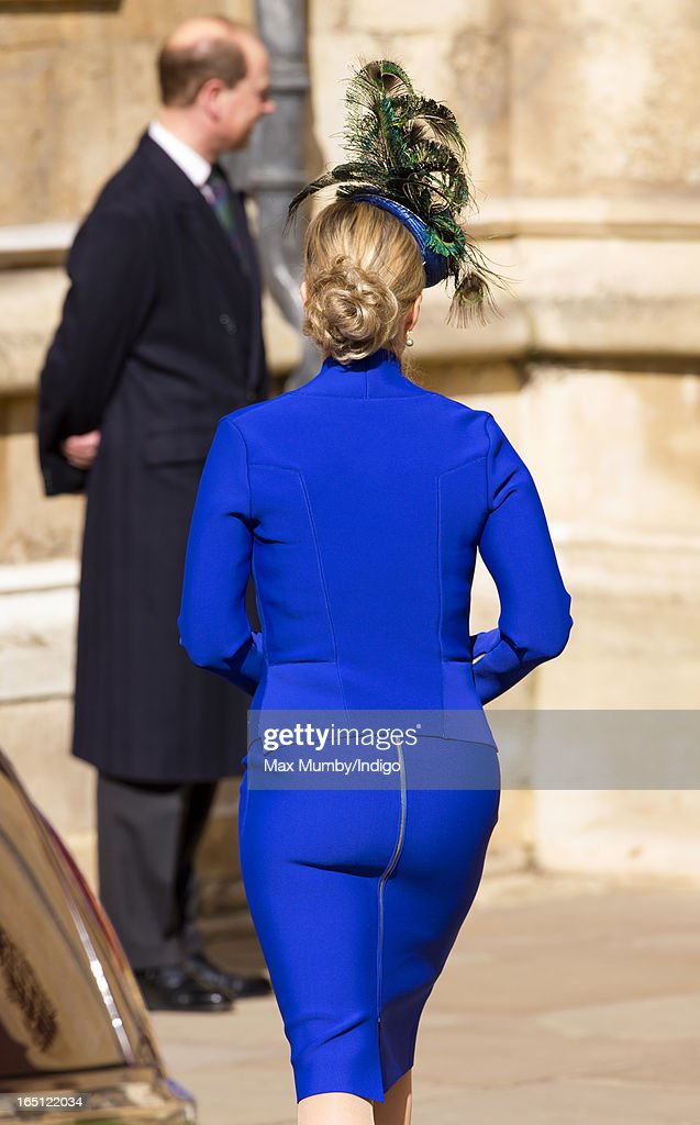 Sophie, Countess of Wessex attends the Easter Matins Church Service at St George's Chapel, Windsor Castle on March 31, 2013 in Windsor, England.