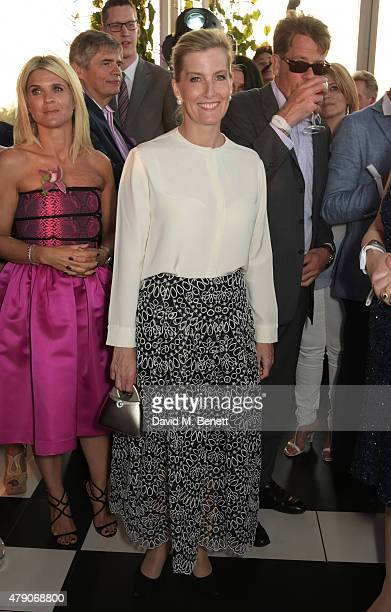 Sophie Countess of Wessex attends the Future Dreams Midsummer Night Party at SushiSamba on June 30 2015 in London England