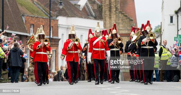 Sophie Countess Of Wessex attends the Headley Court Farewell parade at St Martins Church on September 29 2017 in Dorking England