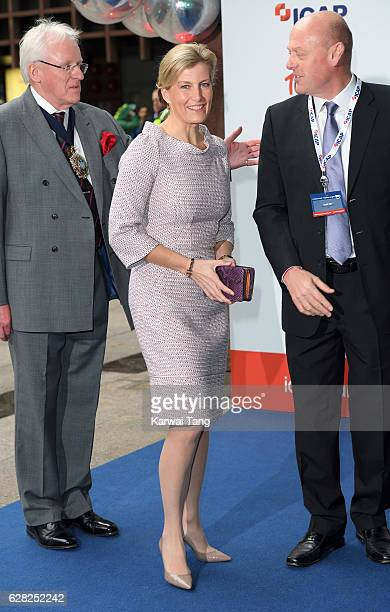 Sophie Countess of Wessex attends the ICAP's 24th annual charity trading day in aid of Sentebale at ICAP on December 7 2016 in London England The...