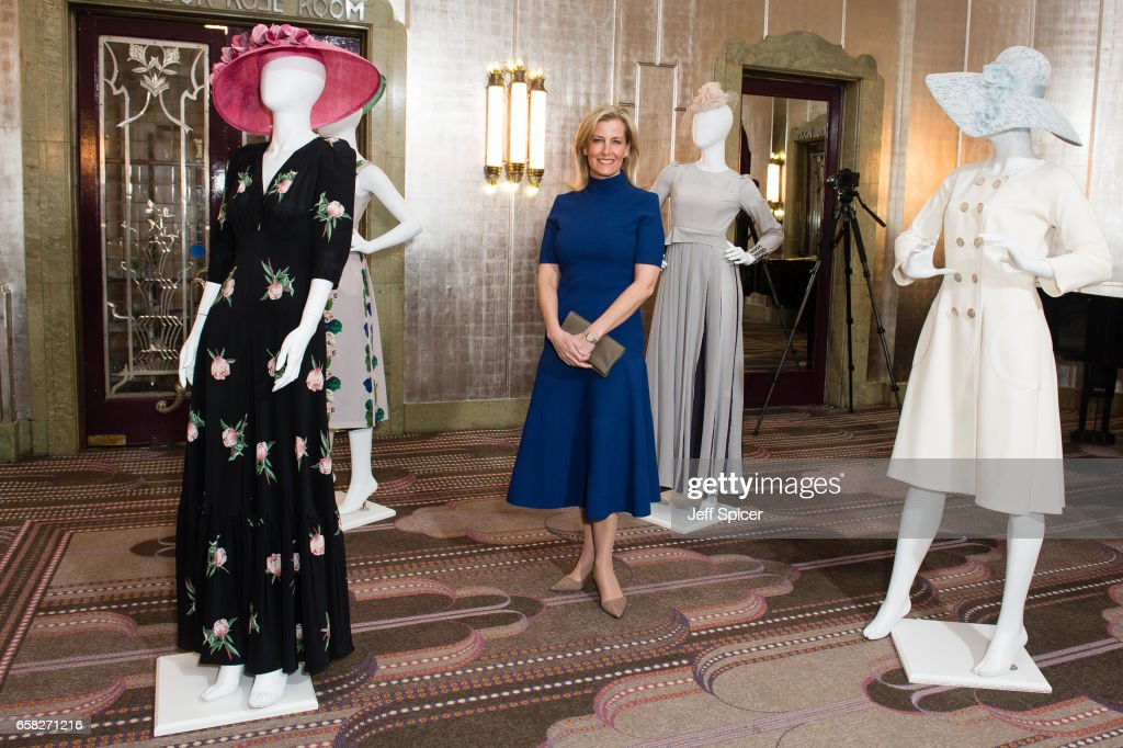 Sophie Countess of Wessex attends the Mencap charity lunch at Sheraton Park Lane Hotel on March 27, 2017 in London, United Kingdom.