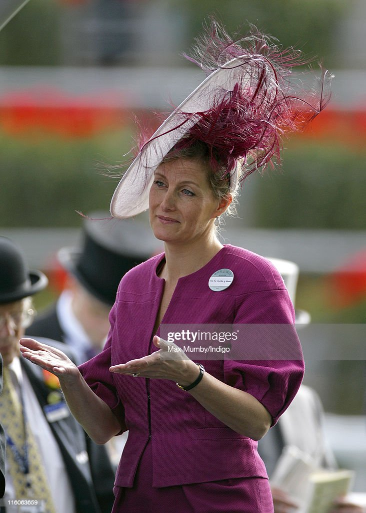 Sophie, Countess of Wessex attends the opening day of Royal Ascot at Ascot Racecourse on June 14, 2011 in Ascot, United Kingdom.
