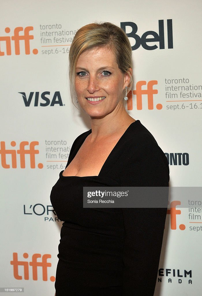 Sophie Countess of Wessex attends the 'Rebelle' premiere during the 2012 Toronto International Film Festival at The Elgin on September 14 2012 in...